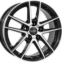 Anzio Split Black Polished 8x18 5/108 ET45 N70.1