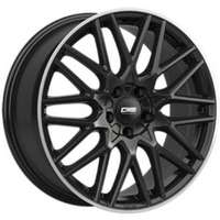CMS C25 Gloss Black  Polished lip 7x17 5/100 ET51 N57.1