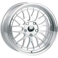 Infiny R1 Light Silver Machined Lip 9.5x19 5/112 ET45 N73.1