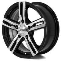 Inter action Kargin Gloss Black Polished 6.5x16 5/120 ET45 N72.6