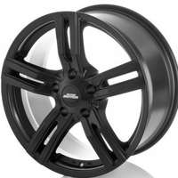 Inter action Kargin Matt Black 7.5x17 5/114.3 ET45 N66.1