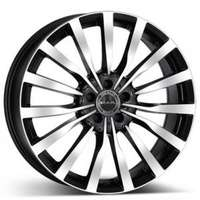 MAK Krone Black Polished 9.5x20 5/130 ET35 N84.1