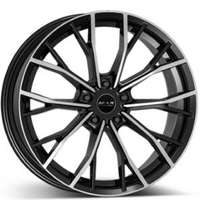 MAK priMe-FF Black Machined Face 8.5x19 5/112 ET40 N66.6
