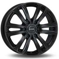 MAK Safari6 Gloss Black 8.5x20 6/114.3 ET45 N66.1