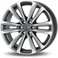 MAK Safari6 Gunmetal Machined Face 7.5x17 6/114.3 ET45 N66.1