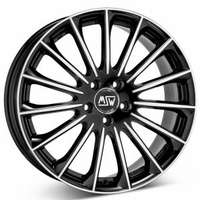 MSW 30 Gloss Black Full Polished 8.5x18 5/112 ET48 N73.1